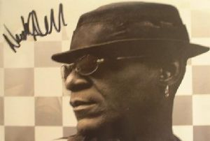 A082 - NEVILLE STAPLE Autographed top 10 x 8 photo